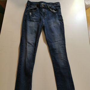 Zara Boys 11/12, 152 cm, Blue Distressed Jeans,
